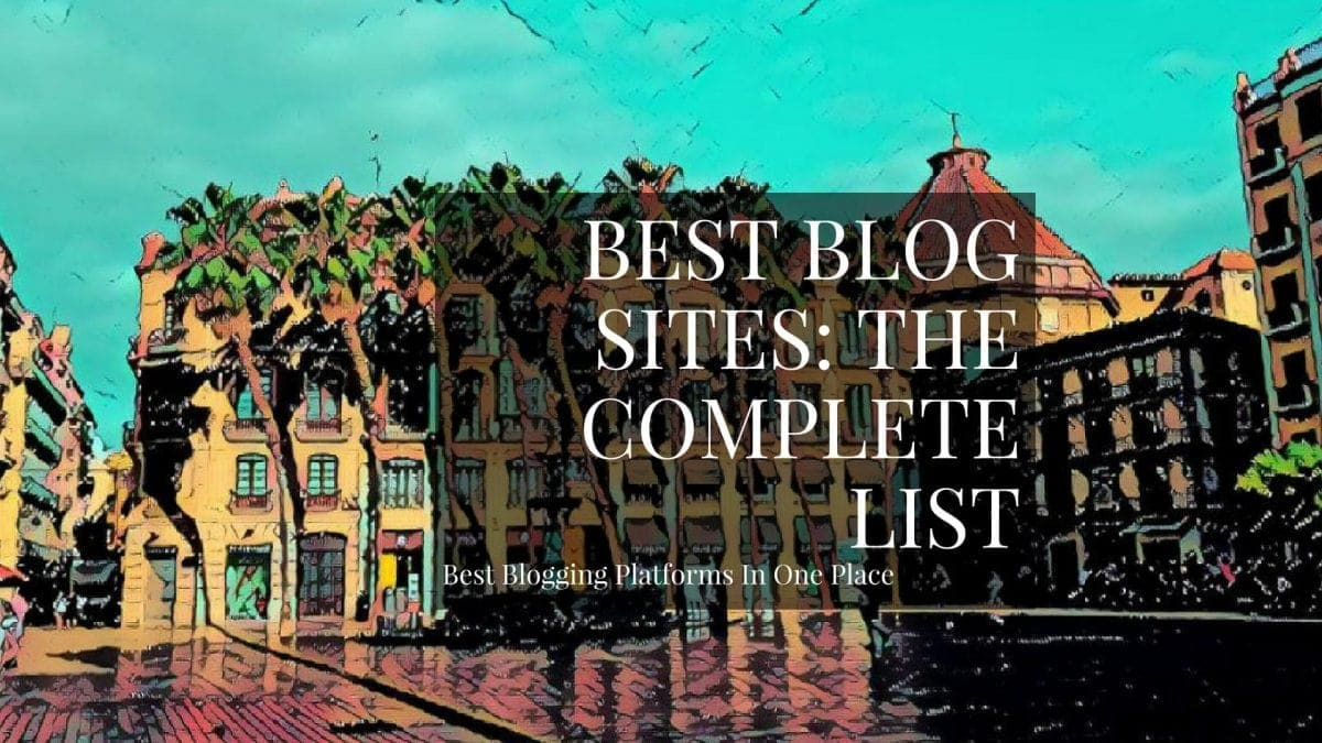 Best blog sites