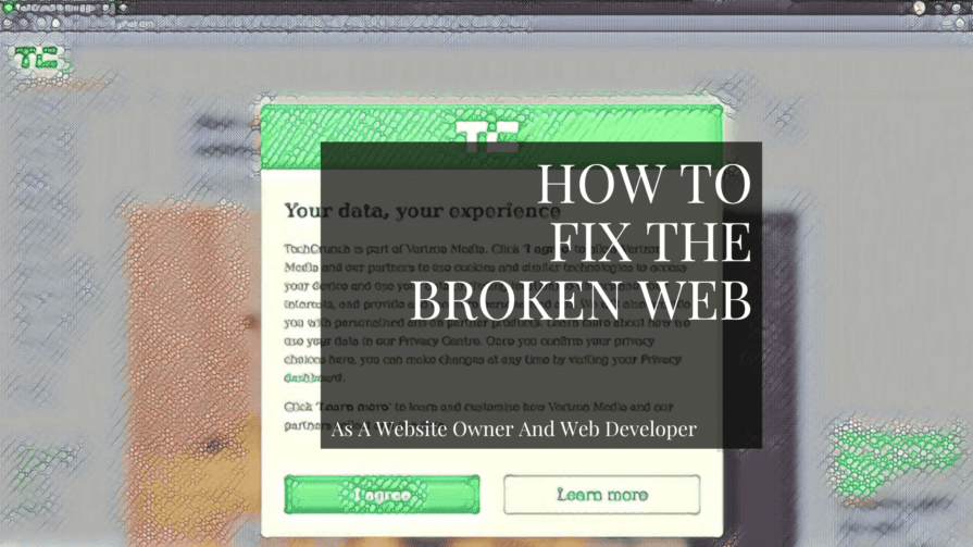 How to fix the broken web