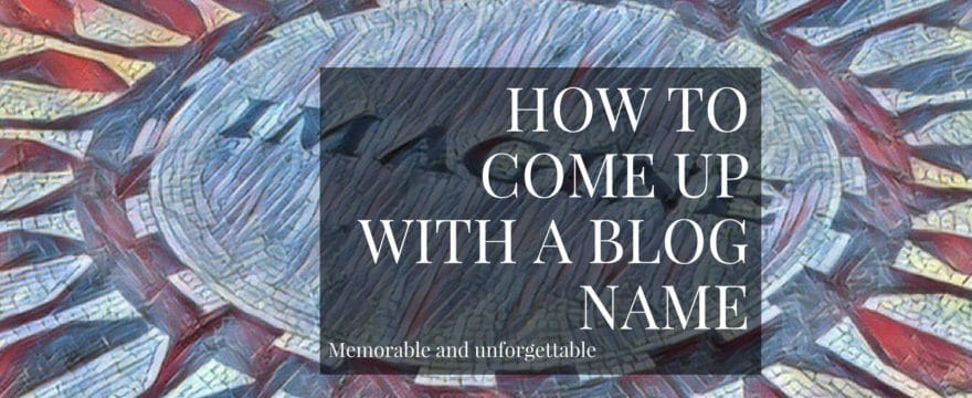This guide has all the inspiration you need on how to name your blog.