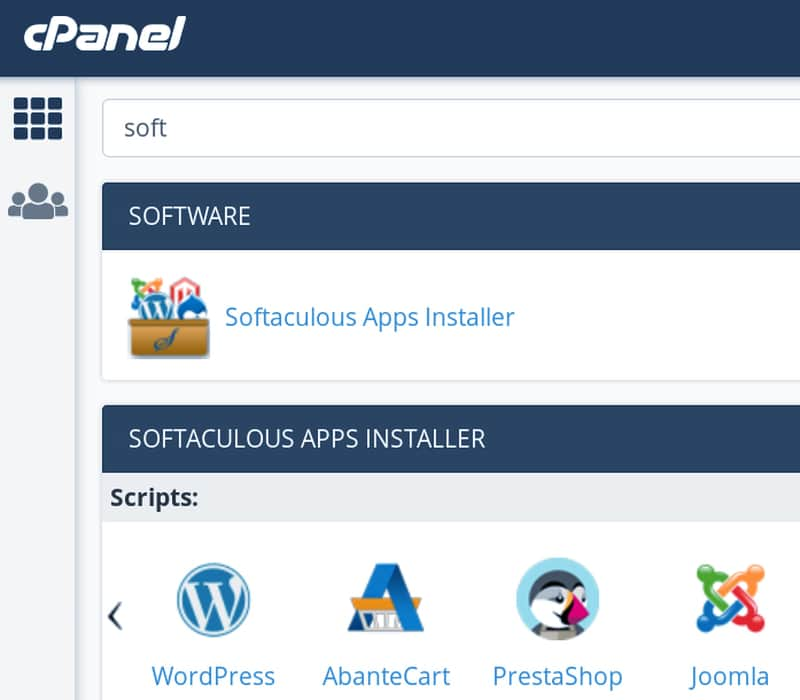 Softaculous Apps Installer for WordPress
