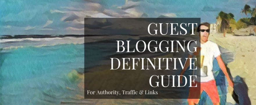 You'll learn everything you need to know from identifying sites to guest post on to making a successful outreach pitch.