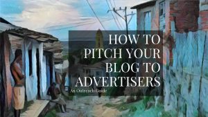 How To Pitch Your Blog To Advertisers