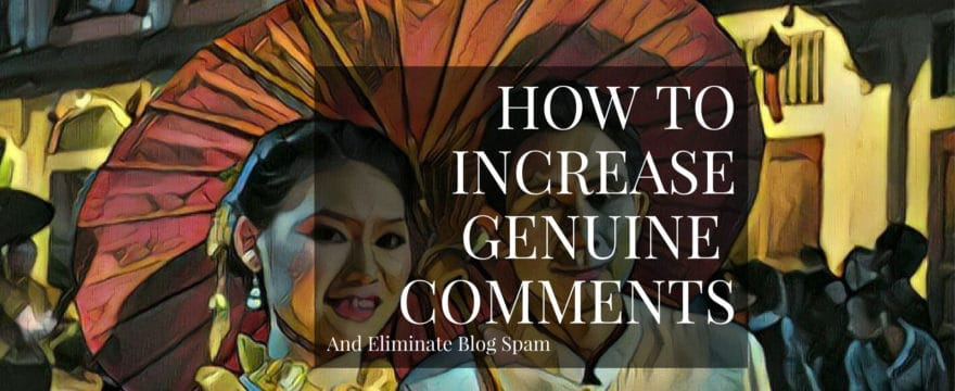 Here's how you can take command of your blog's comment section, get more real comments, eliminate all the spam, and encourage more visitors to post genuine opinions that add value to the conversation.