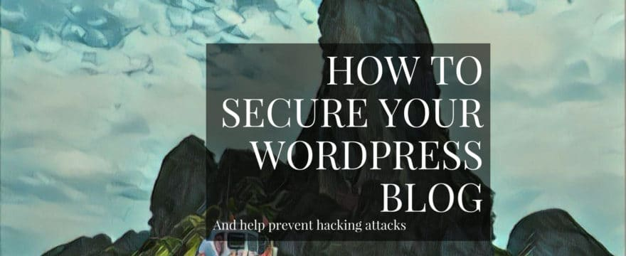 Make your WordPress blog more secure and help prevent hacking attacks.