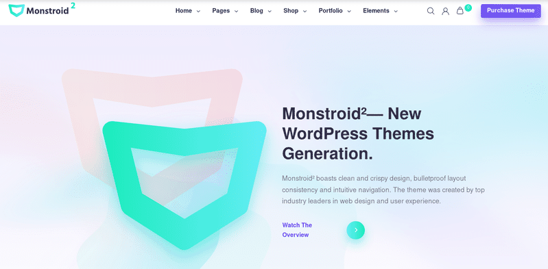 Monstroid premium theme