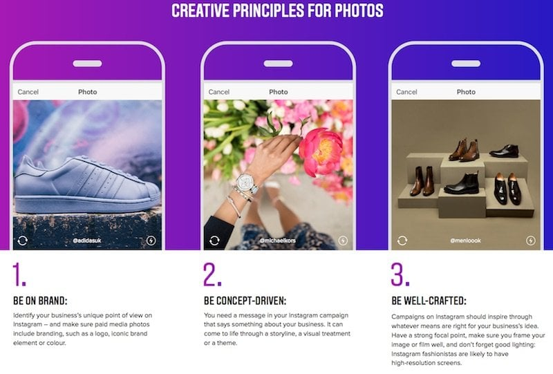 Principles for photos
